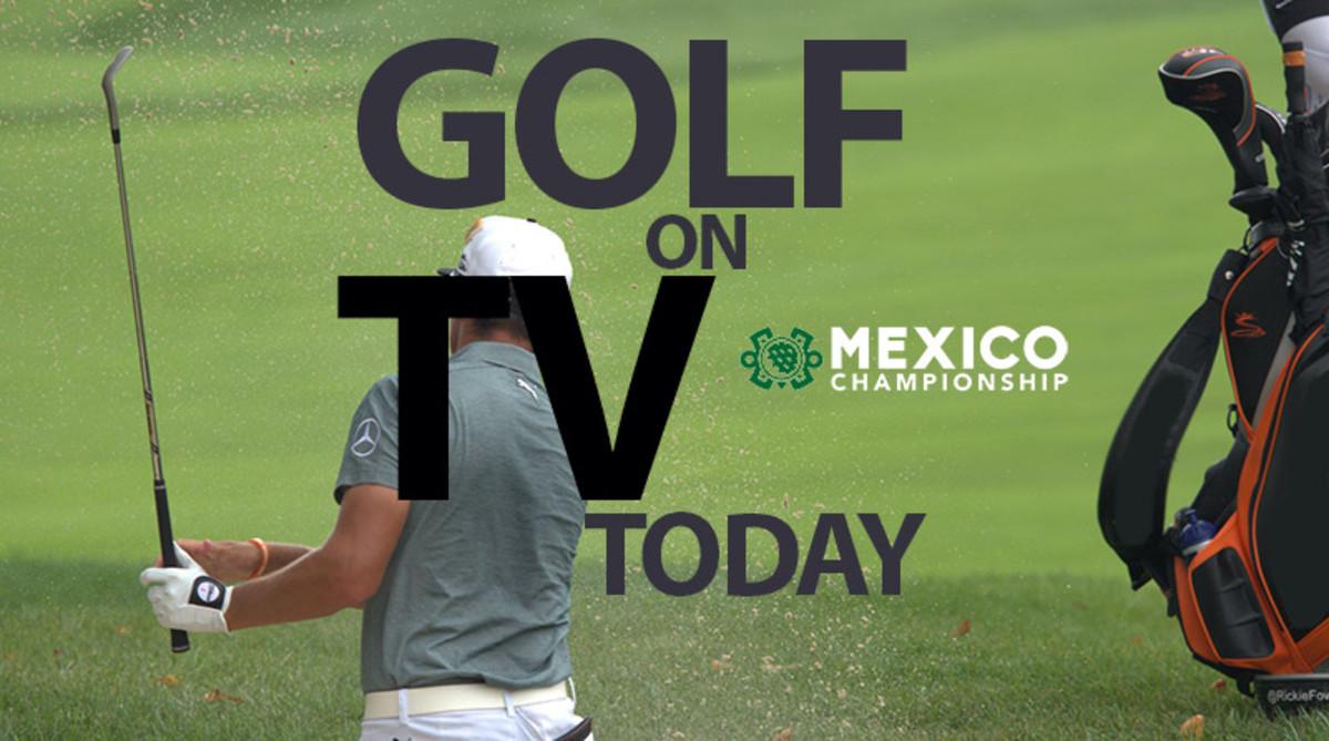 Golf on TV Today (Saturday, Feb. 22): WGC-Mexico Championship