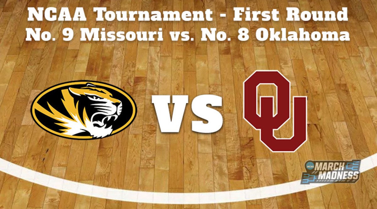 Missouri Tigers vs. Oklahoma Sooners Prediction: NCAA Tournament First Round Preview