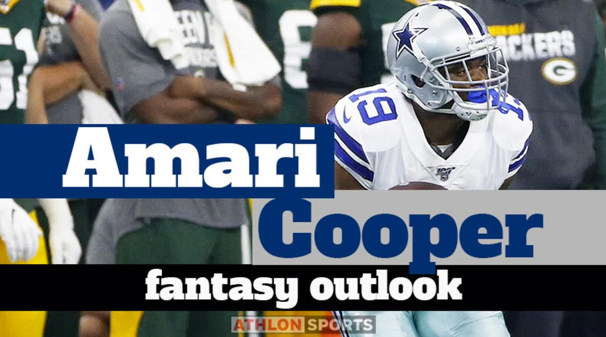 Amari Cooper: Fantasy Outlook 2020