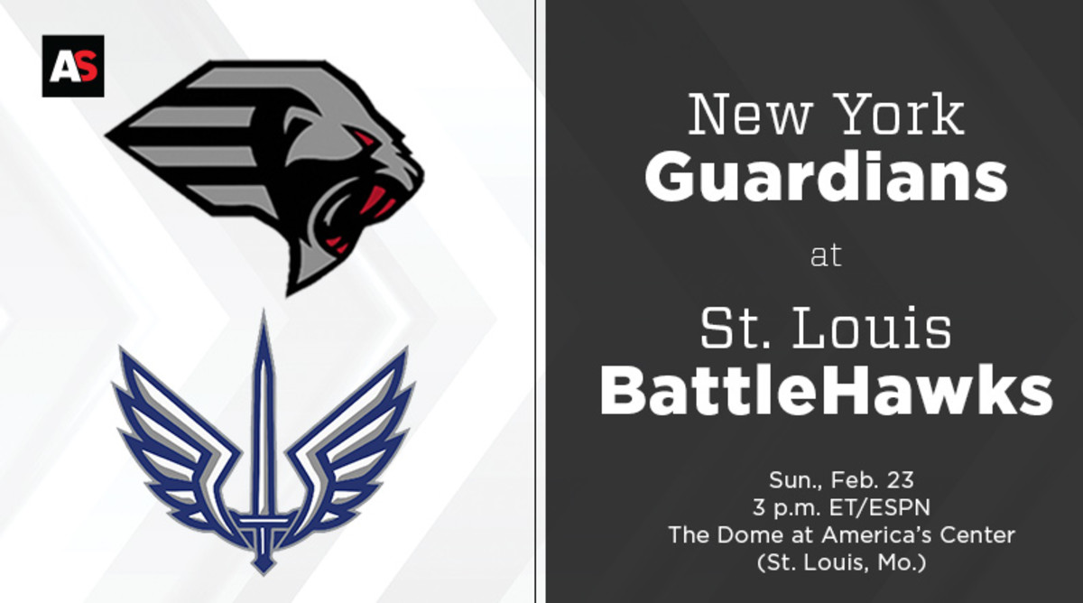 New York Guardians vs. St. Louis BattleHawks Prediction and Preview (XFL Football)