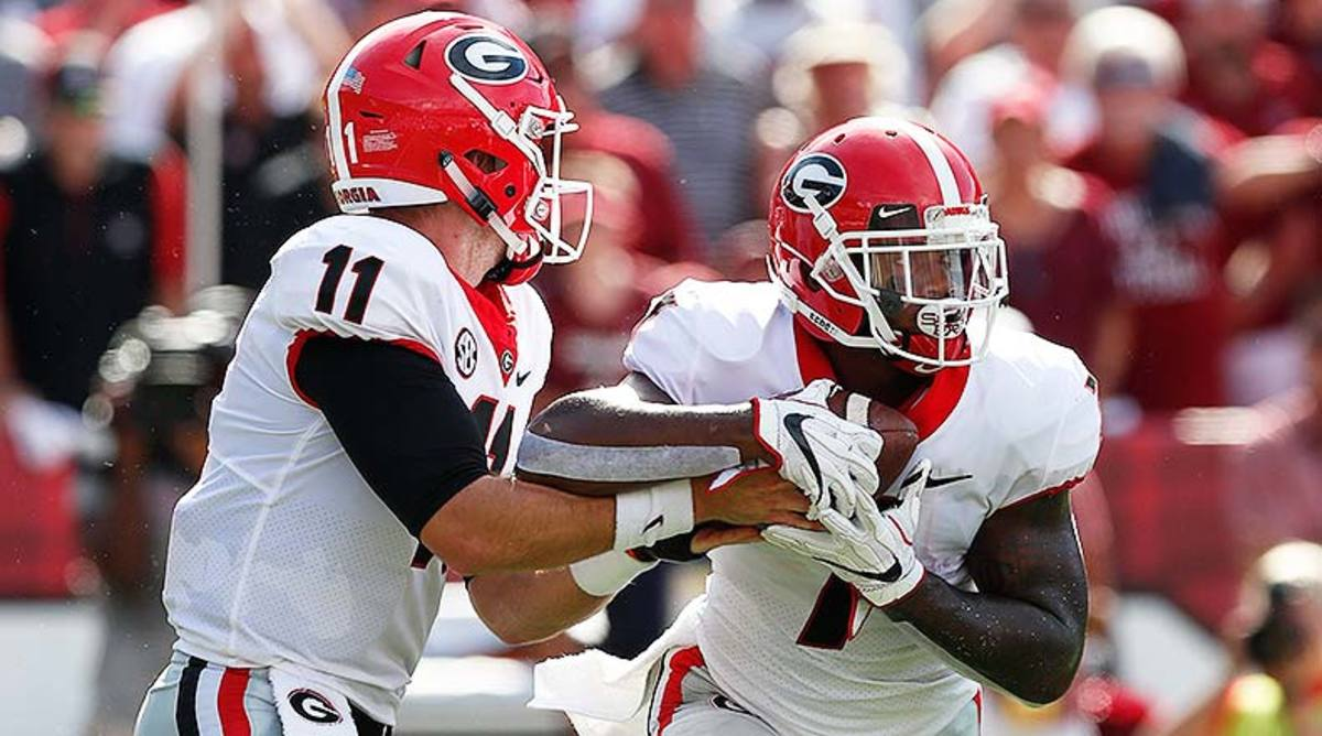 Jake Fromm and D'Andre Swift, Georgia Bulldogs Football
