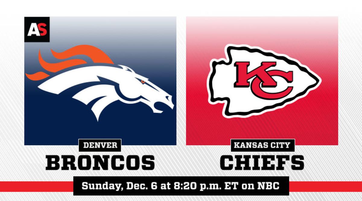 Sunday Night Football: Denver Broncos vs. Kansas City Chiefs Prediction and Preview