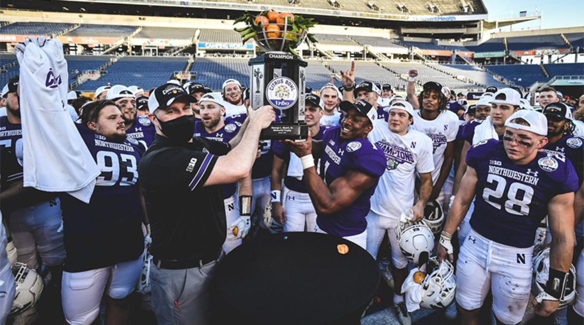 Northwestern Football: 2020 Team Awards