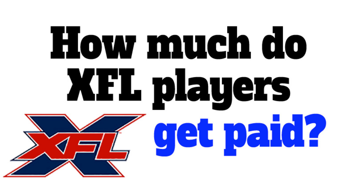 XFL Football: How Much Do XFL Players Get Paid?