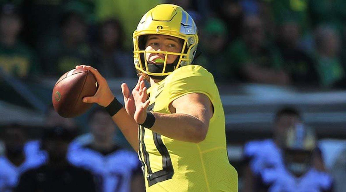 College Football Rankings: Justin Herbert, Oregon Ducks Football
