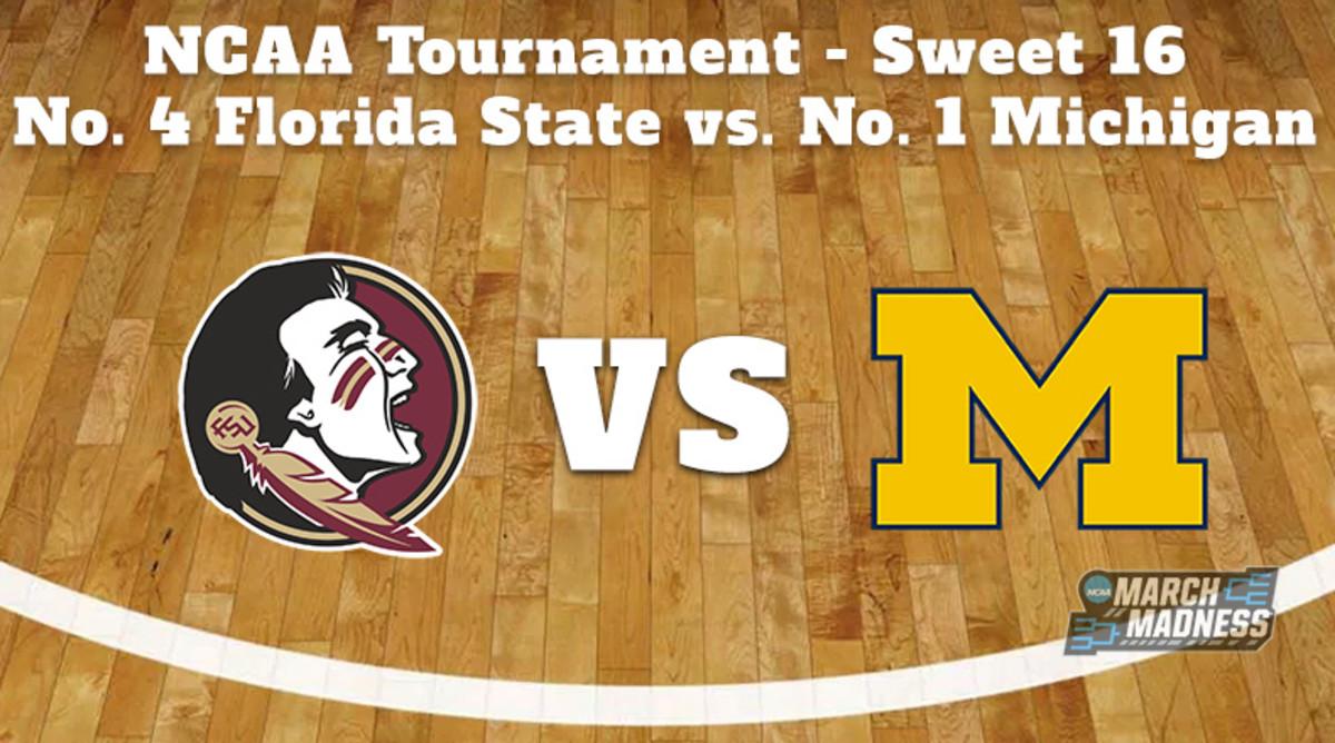 Florida State Seminoles vs. Michigan Wolverines Prediction: NCAA Tournament Sweet 16 Preview