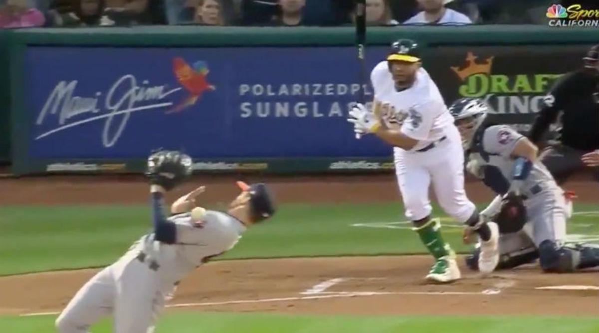 Astros Pitcher Collin McHugh Does Crazy Matrix Move