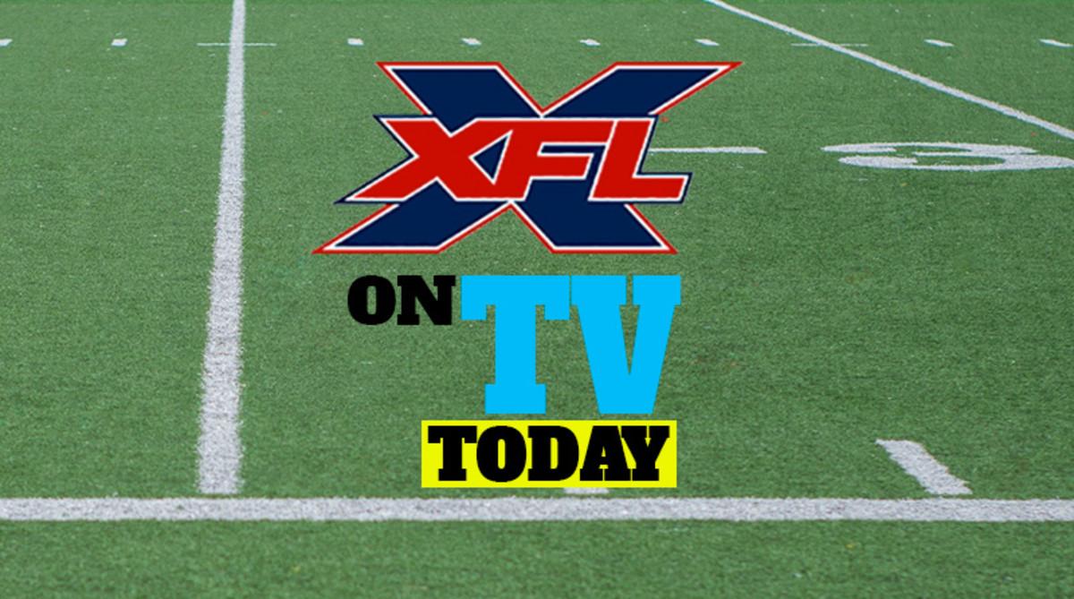 XFL Football Games on TV Today (Sunday, Feb. 9)