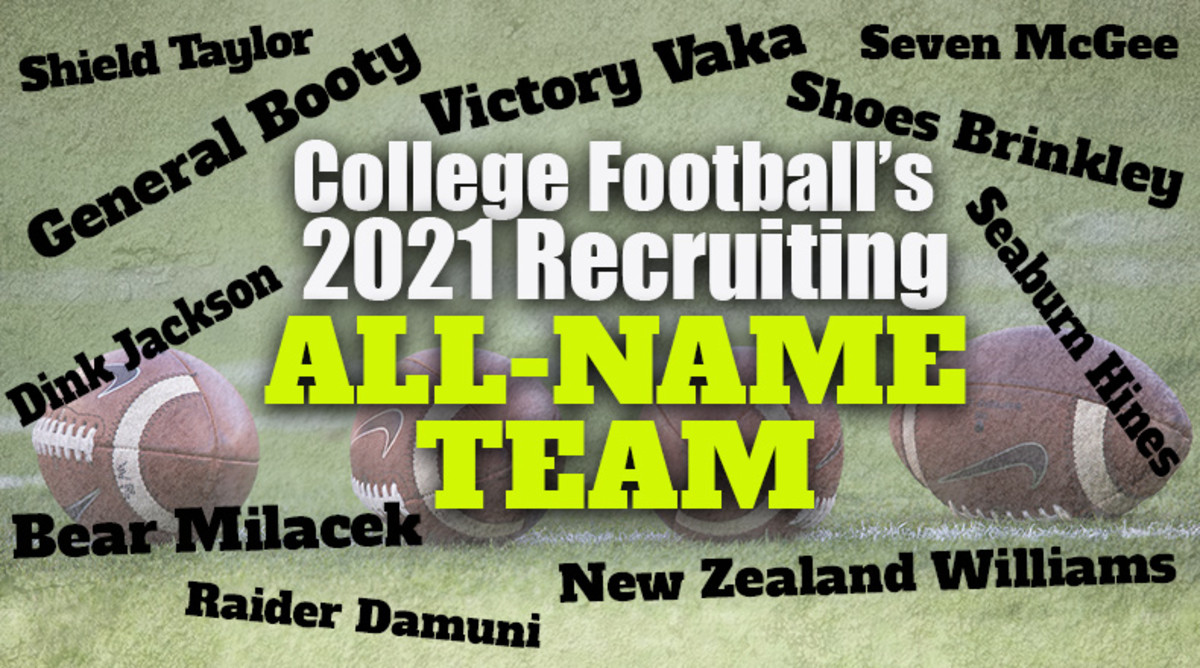 College Football's 2021 Recruiting All-Name Team