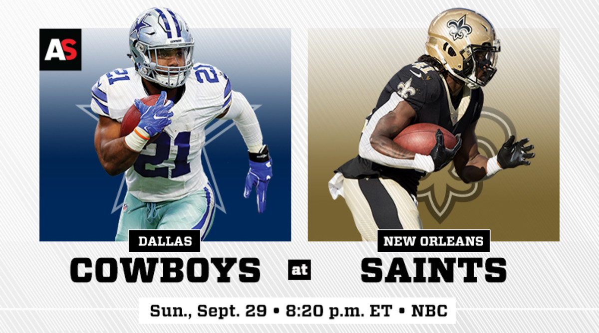 Sunday Night Football: Dallas Cowboys vs. New Orleans Saints Prediction and Preview