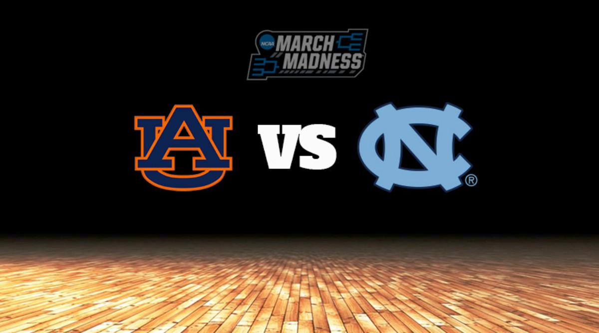 Auburn Tigers vs. North Carolina Tar Heels Prediction: NCAA Tournament Sweet 16 Preview