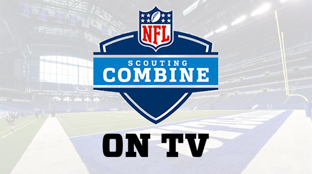 NFL Scouting Combine on TV Today (Thursday, Feb. 27)