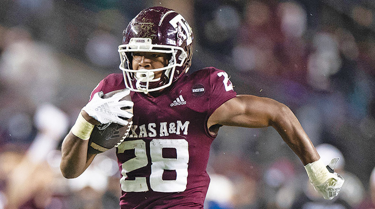 Isaiah Spiller, Texas A&M Aggies Football