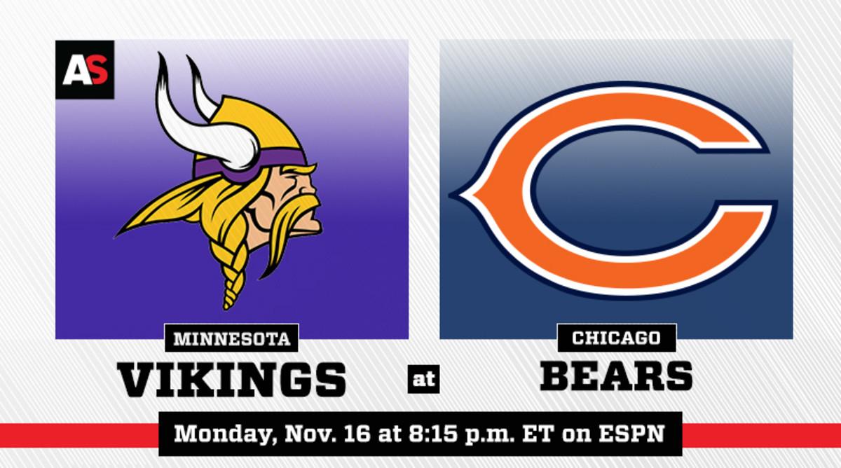Monday Night Football: Minnesota Vikings vs. Chicago Bears Prediction and Preview