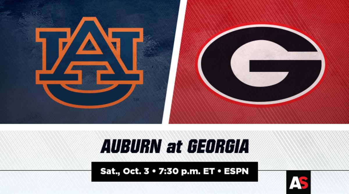 Auburn vs. Georgia Football Prediction and Preview
