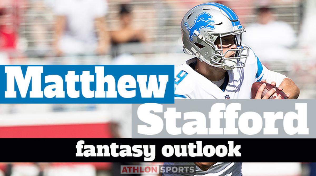 Matthew Stafford: Fantasy Outlook 2020