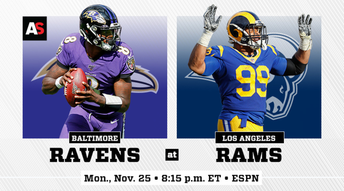 Monday Night Football: Baltimore Ravens vs. Los Angeles Rams Prediction and Preview