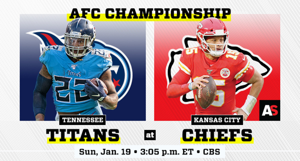 AFC Championship Prediction and Preview: Tennessee Titans vs. Kansas City Chiefs