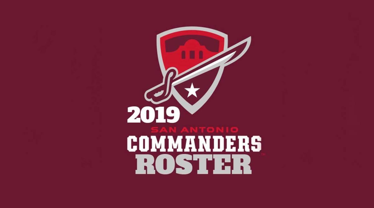 San Antonio Commanders Roster (AAF Football)