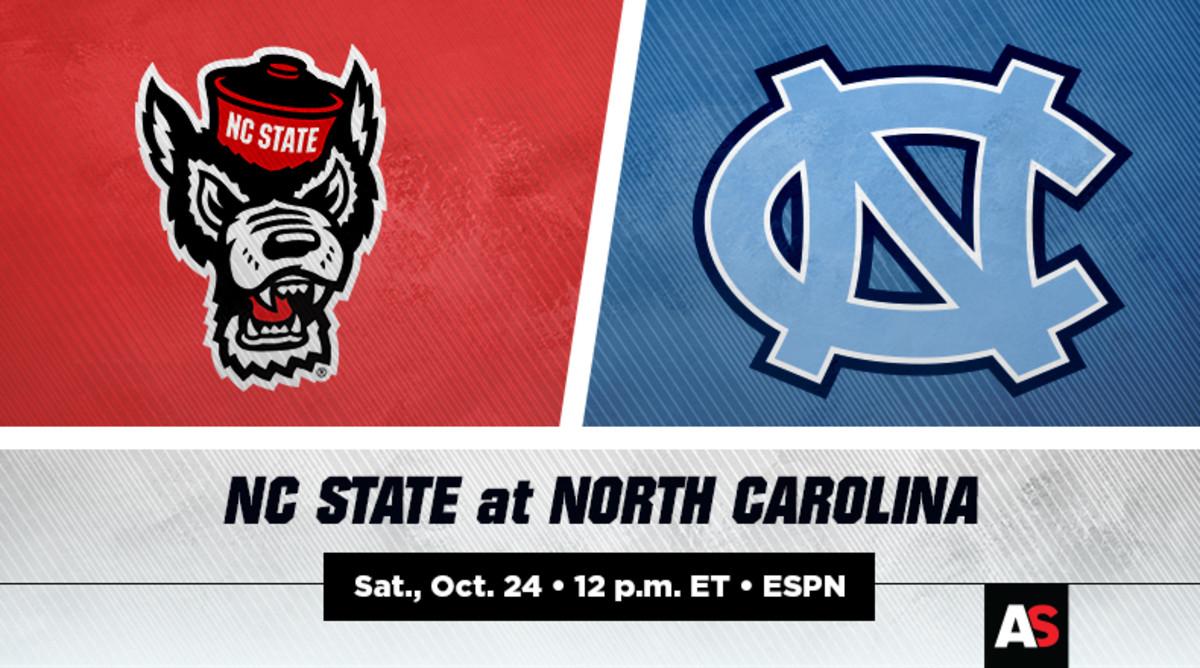 NC State (NCSU) vs. North Carolina (UNC) Football Prediction and Preview