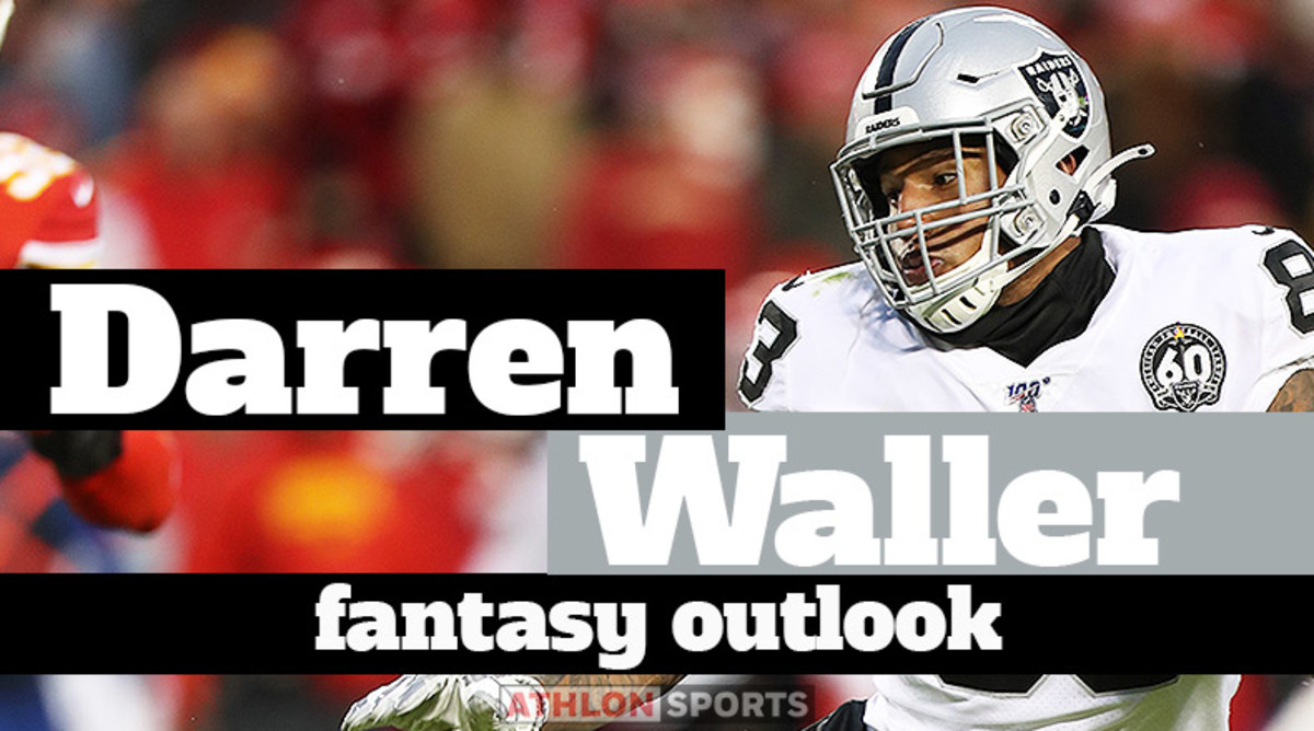Darren Waller: Fantasy Outlook 2020