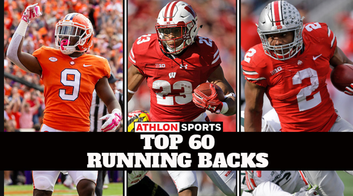College Football's Top 60 Running Backs for 2019