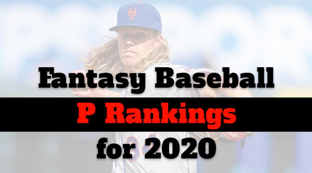 Fantasy Baseball Cheat Sheet: Pitcher Rankings for 2020