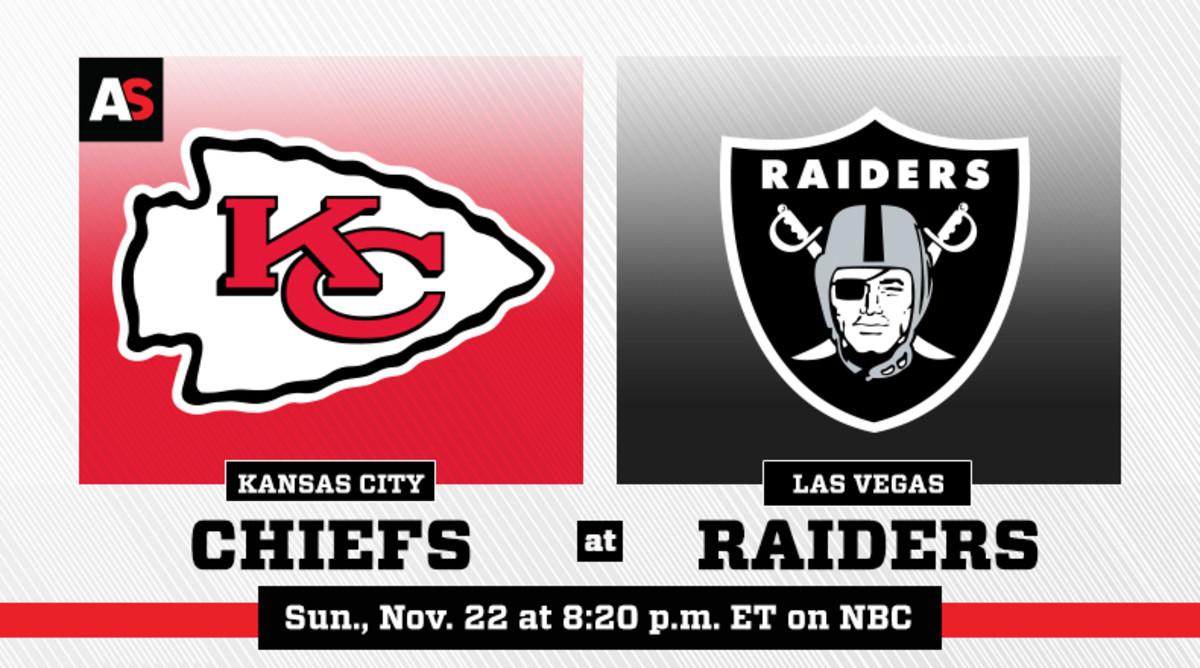 Sunday Night Football: Kansas City Chiefs vs. Las Vegas Raiders Prediction and Preview