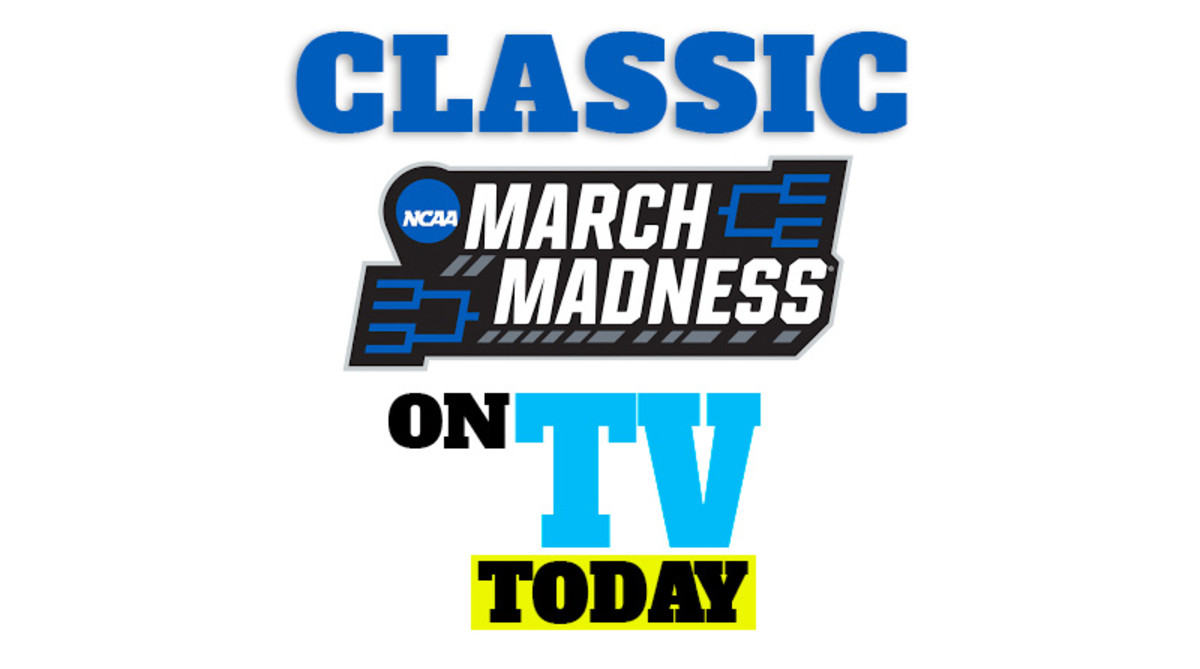 Classic March Madness NCAA Tournament Games on TV Today (Sunday, April 5)
