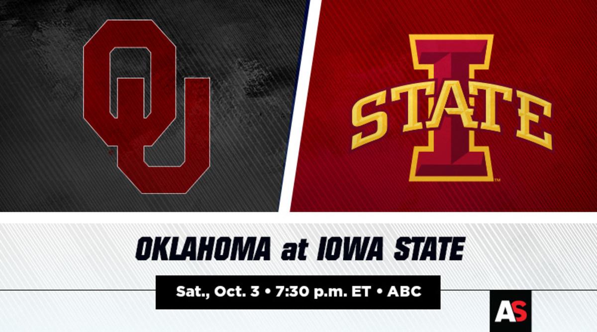Oklahoma (OU) vs. Iowa State (ISU) Football Prediction and Preview