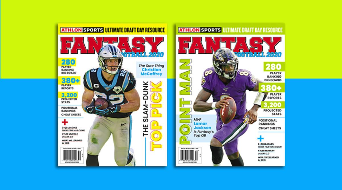 Athlon Sports' 2020 Fantasy Football Magazine is Available Now