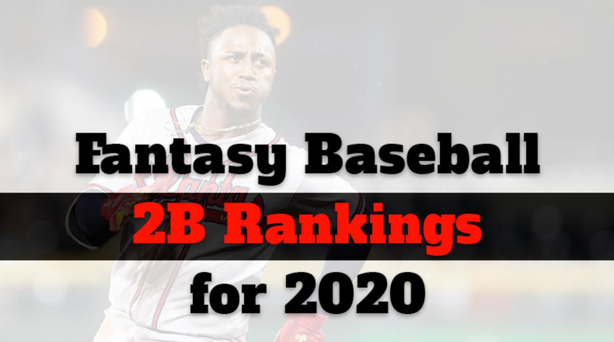 Fantasy Baseball Cheat Sheet: Second Base Rankings for 2020