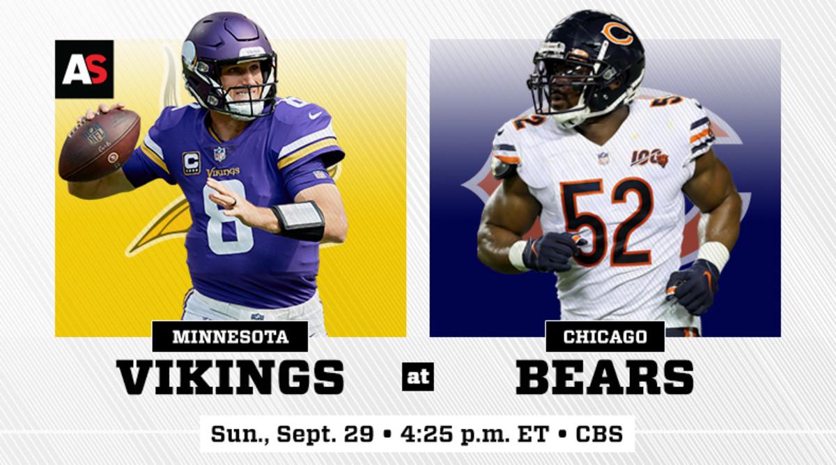 Minnesota Vikings vs. Chicago Bears Prediction and Preview