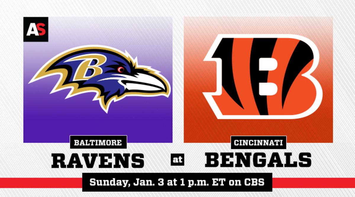 Baltimore Ravens vs. Cincinnati Bengals Prediction and Preview