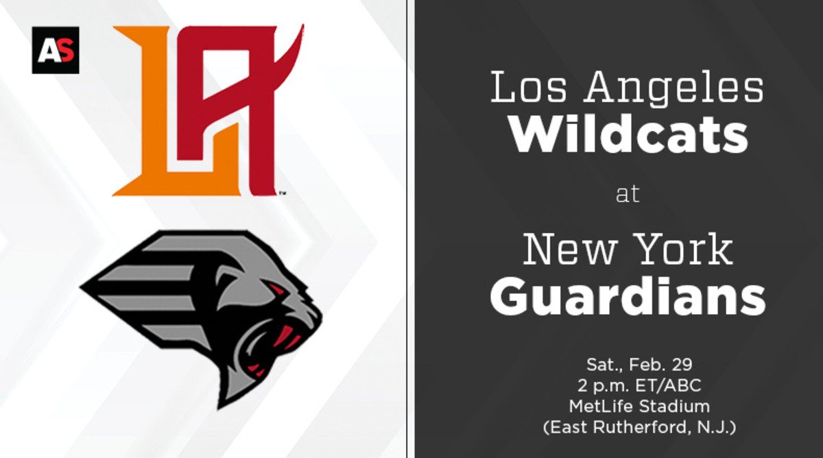 Los Angeles Wildcats vs. New York Guardians Prediction and Preview (XFL Football)