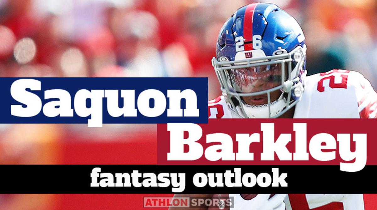 Saquon Barkley: Fantasy Outlook 2020