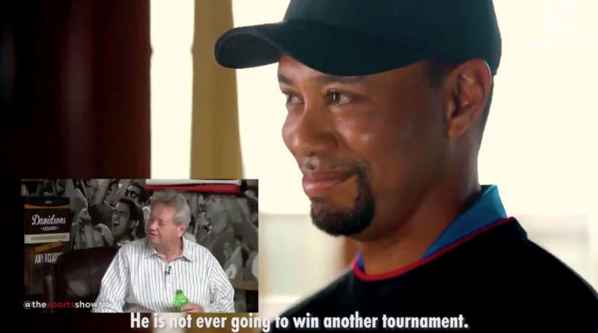 The Viral Tiger Woods Video Going Around is Fake