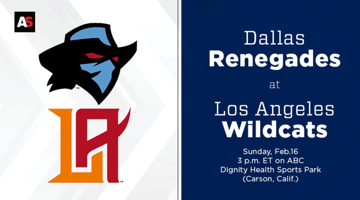 Dallas Renegades vs. Los Angeles Wildcats Prediction and Preview (XFL Football)