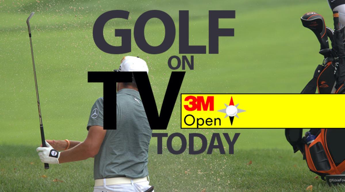 Golf on TV Today (Weekend Schedule): 3M Open 2019