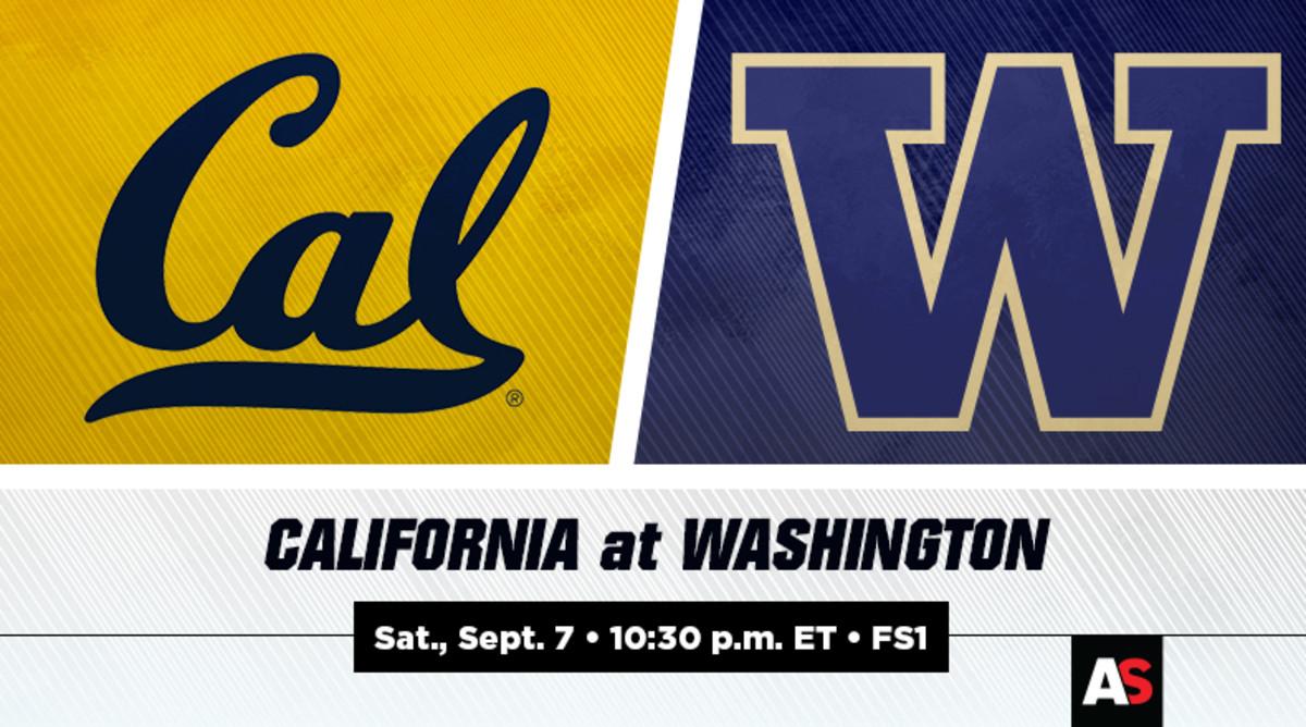 Cal vs. Washington Football Prediction and Preview