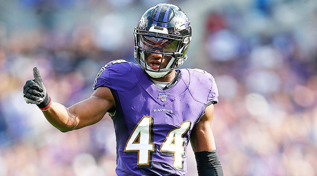 Defense/Special Teams Rankings Week 10: Marlon Humphrey/Baltimore Ravens