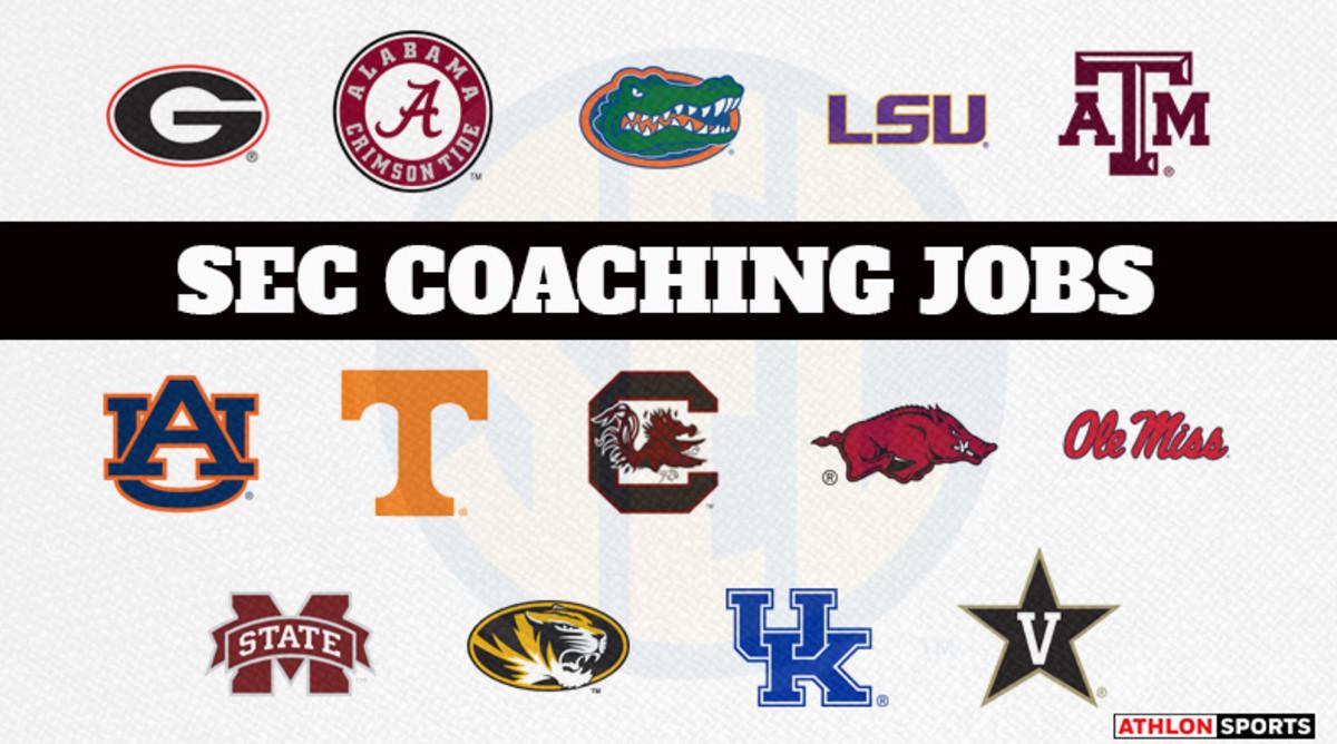 Ranking the SEC College Football Coaching Jobs 2019