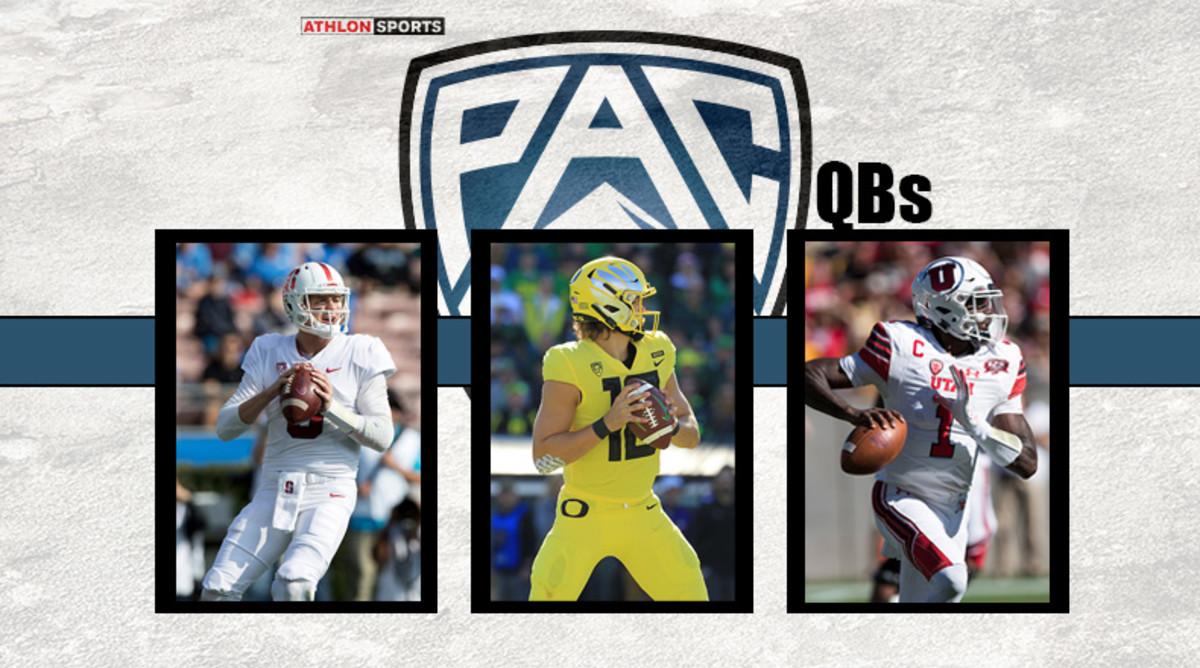 Pac-12 Quarterback Rankings 2019
