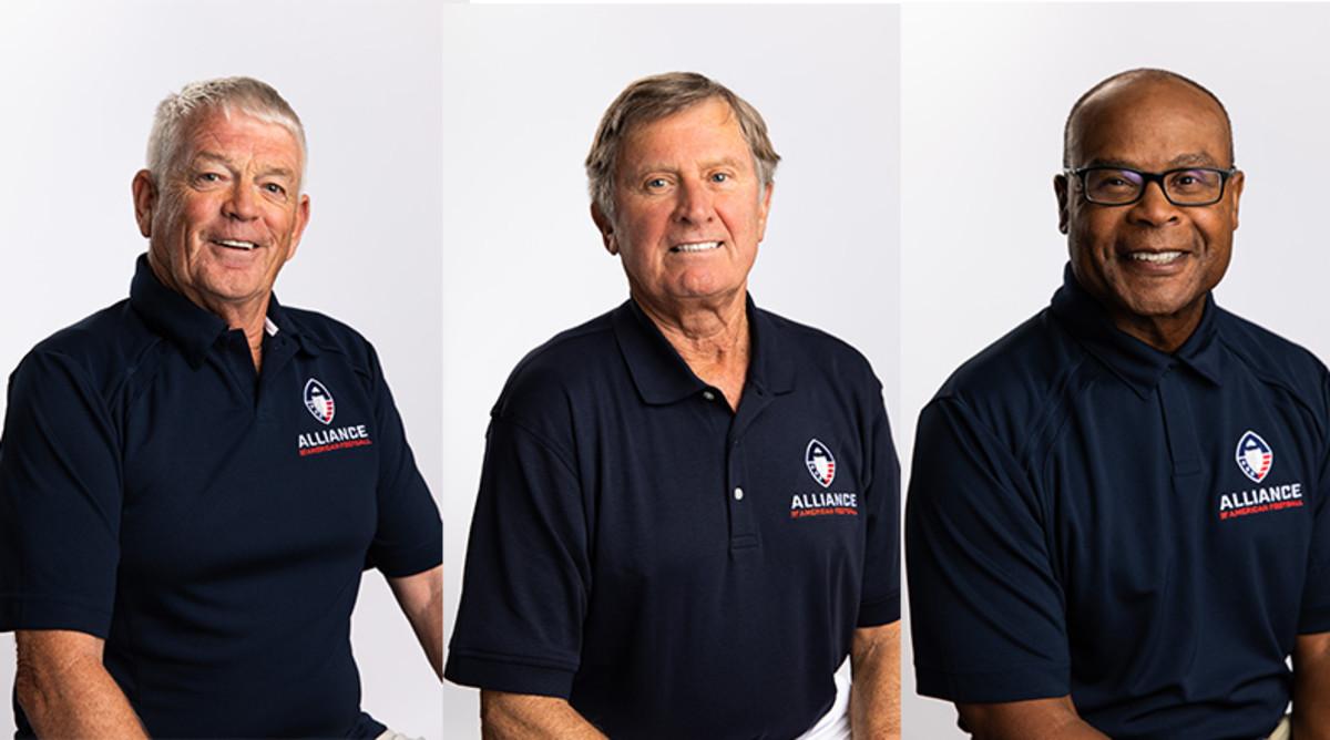 AAF Football Coaches