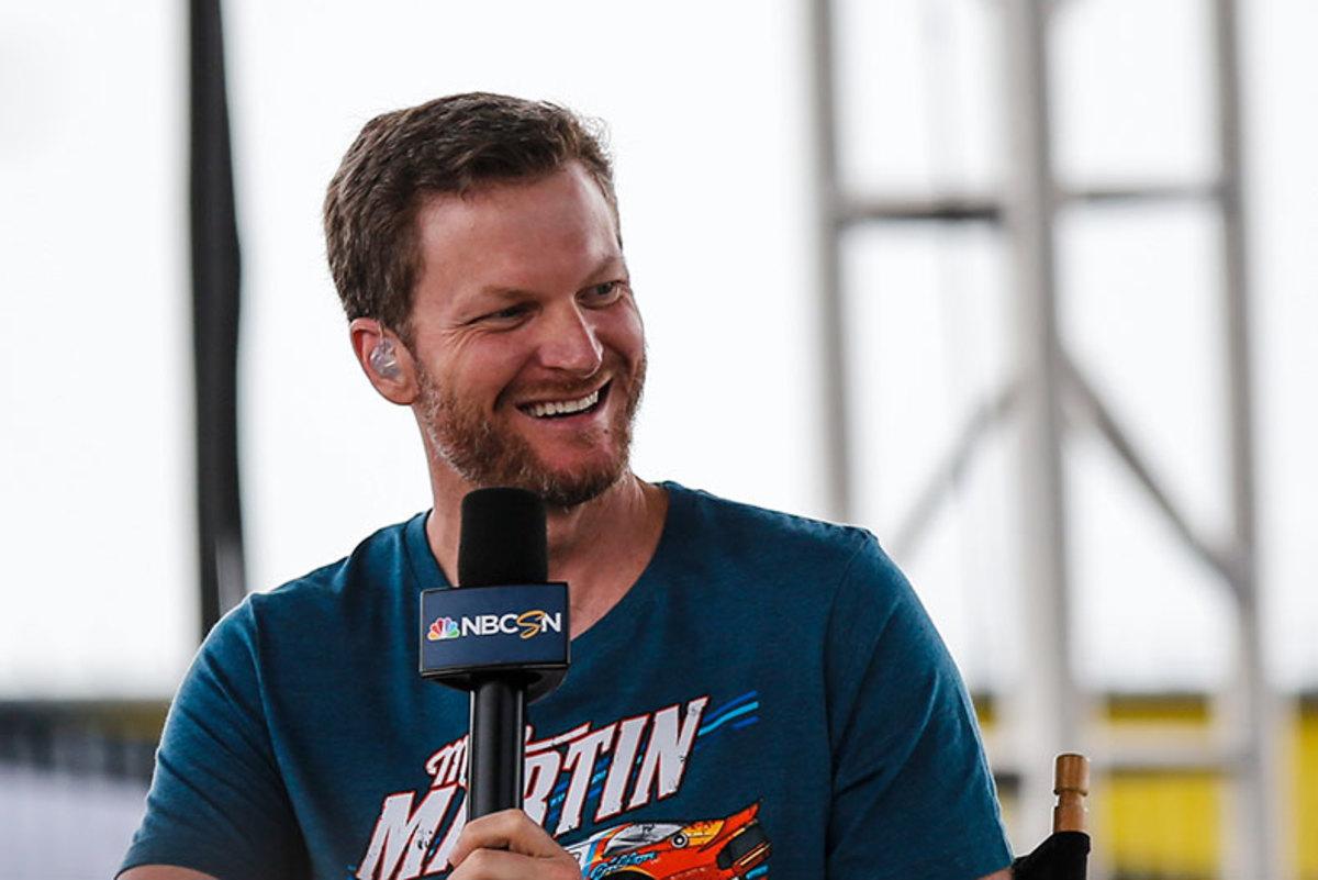 Dale Jr. NBC Sports
