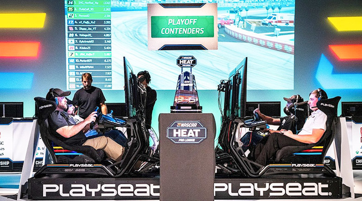 NASCAR Bets Big on eSports