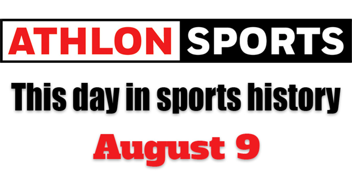 This Day in Sports History: August 9