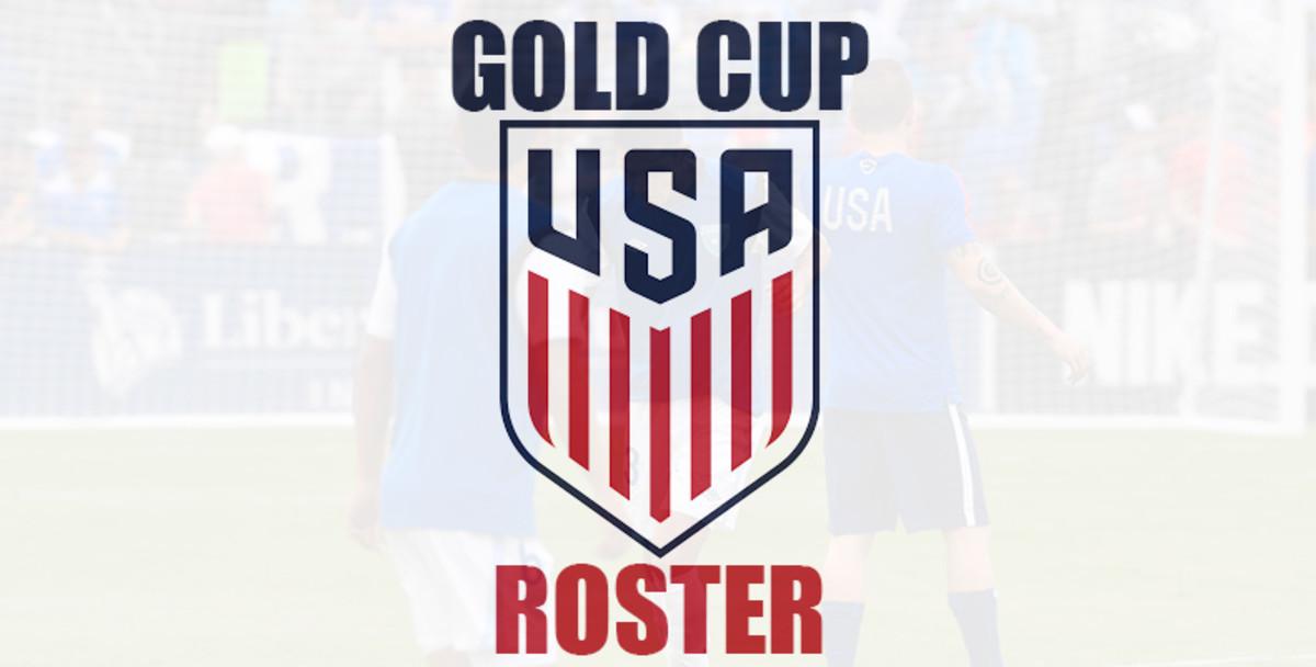 USMNT: Team USA Men's Gold Cup Roster