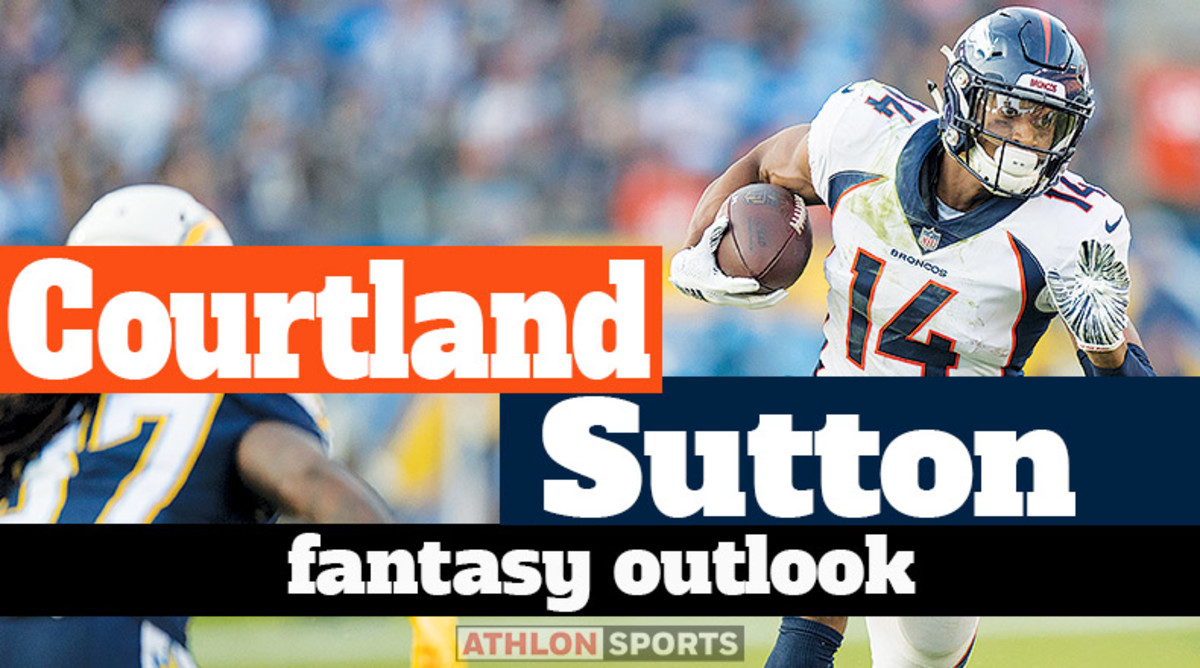 Courtland Sutton: Fantasy Outlook 2020