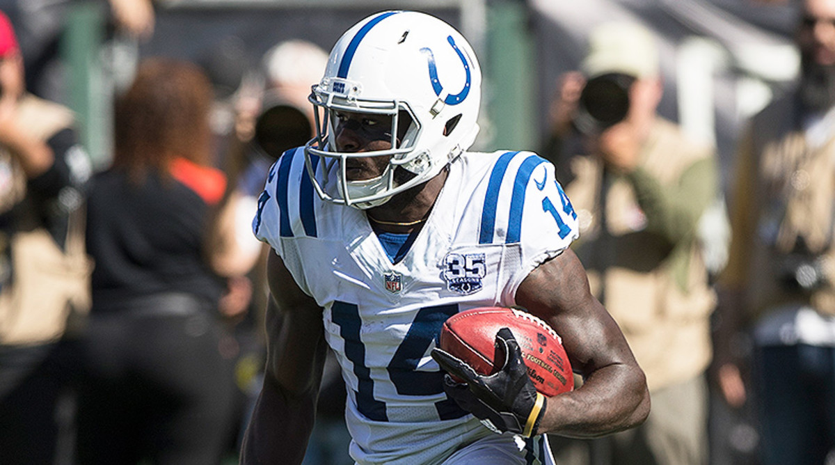 Wide Receiver Rankings Week 10: Zach Pascal